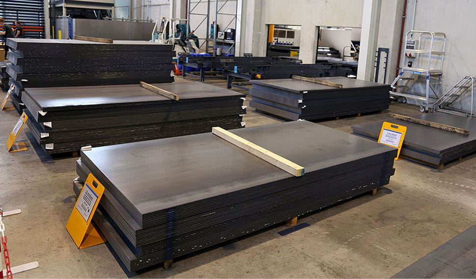 Carbon Steel S355J2+N Sheet Plate / Structurals