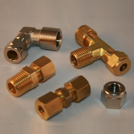 Cupro Nickel 90/10 Compression Tube Fittings