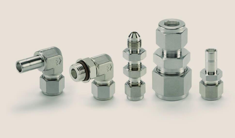 Super Duplex Steel S32760 Compression Tube Fittings
