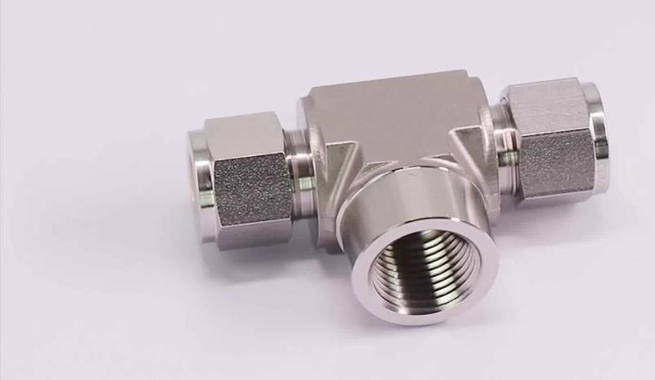 Inconel N07718 Compression Tube Fittings