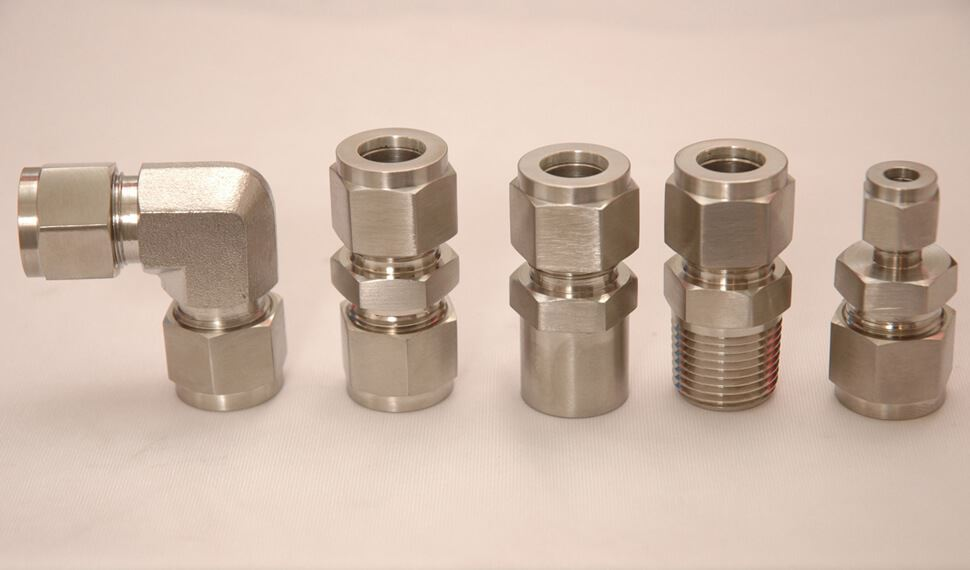 Monel UNS N04400 Compression Tube Fittings