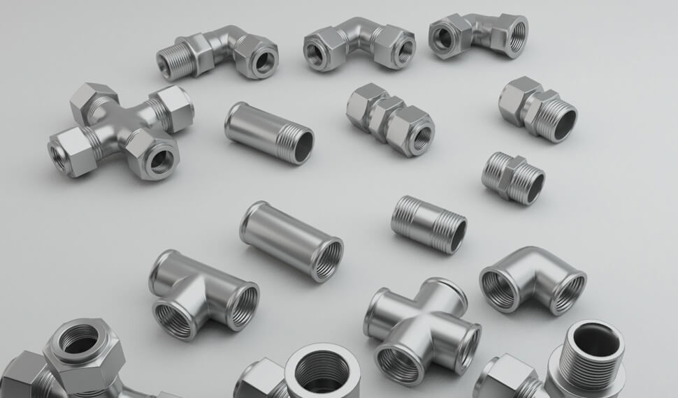 Stainless Steel 310 Compression Tube Fittings