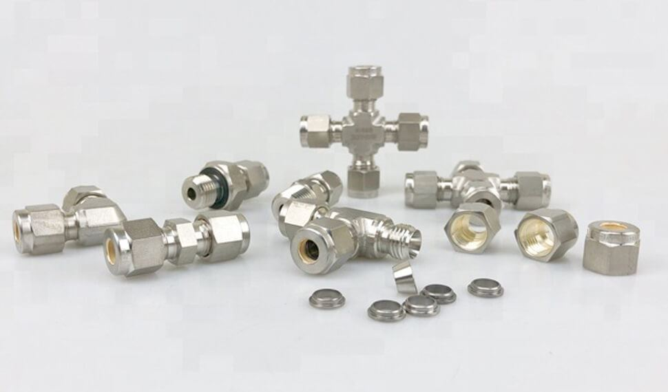 Stainless Steel 317L Compression Tube Fittings