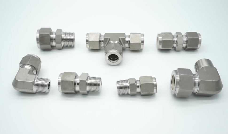 Stainless Steel UNS S31635 Compression Tube Fittings