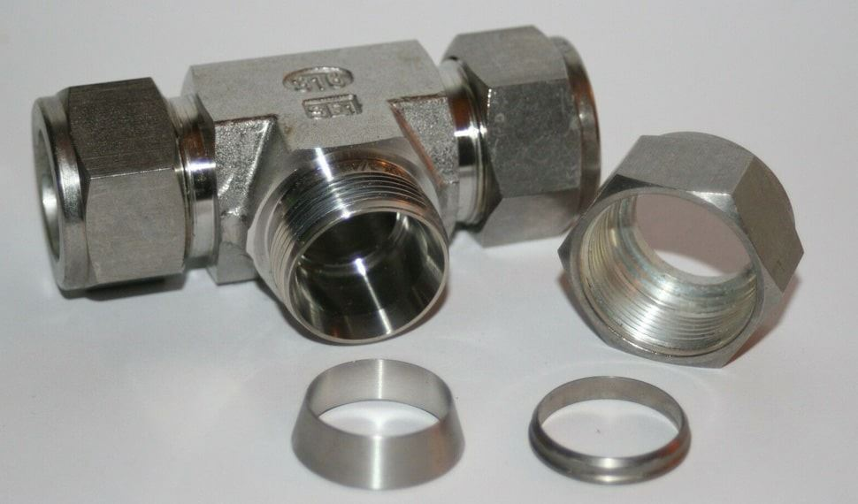 Stainless Steel UNS S31703 Compression Tube Fittings