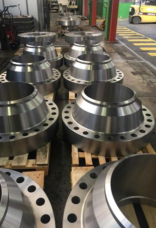 Stainless Steel 347, 347H Weld Neck Flanges