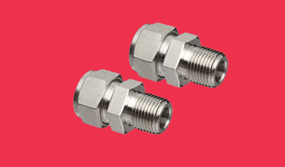 Titanium Gr 2 Compression Tube Fittings