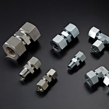 Titanium Gr 5 Compression Tube Fittings